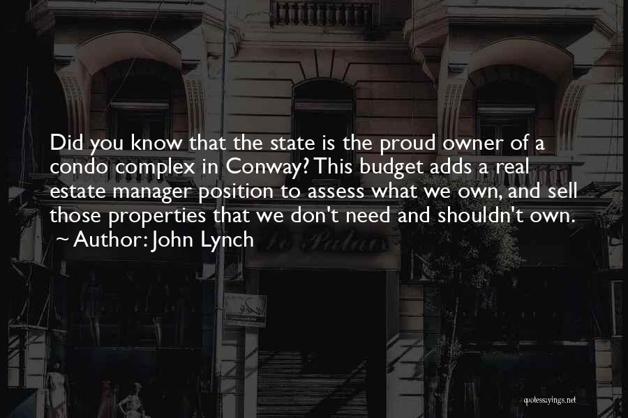 Real Estate Quotes By John Lynch