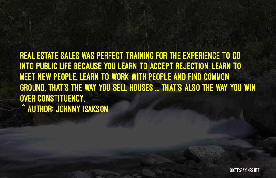 Real Estate Quotes By Johnny Isakson