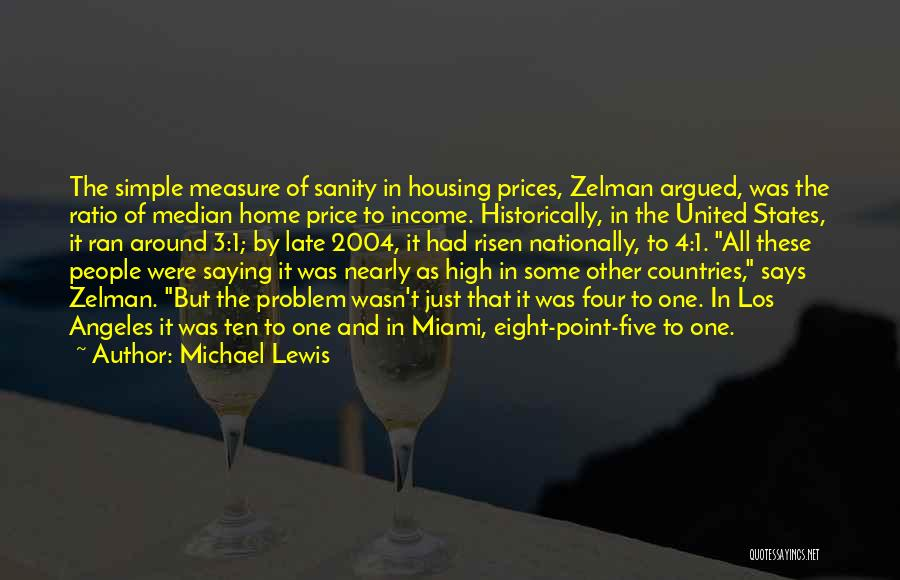 Real Estate Quotes By Michael Lewis