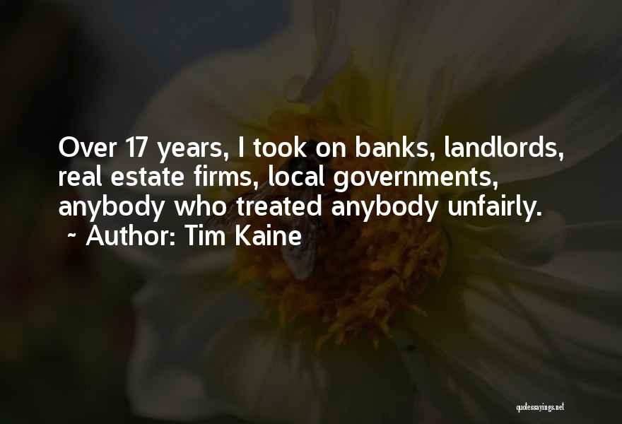 Real Estate Quotes By Tim Kaine
