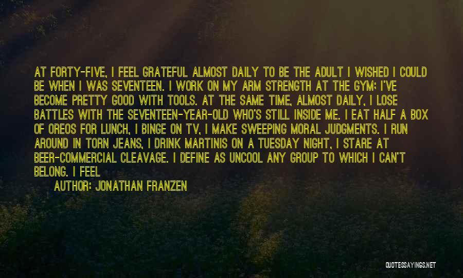 Real Good Night Quotes By Jonathan Franzen