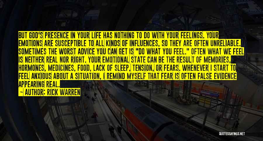 Real Life Situation Quotes By Rick Warren