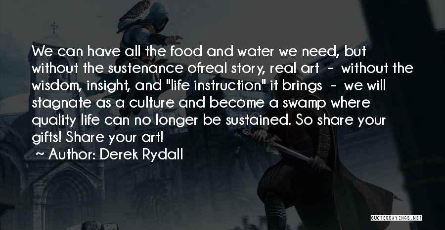 Real Life Wisdom Quotes By Derek Rydall