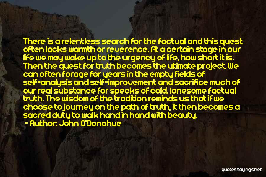 Real Life Wisdom Quotes By John O'Donohue
