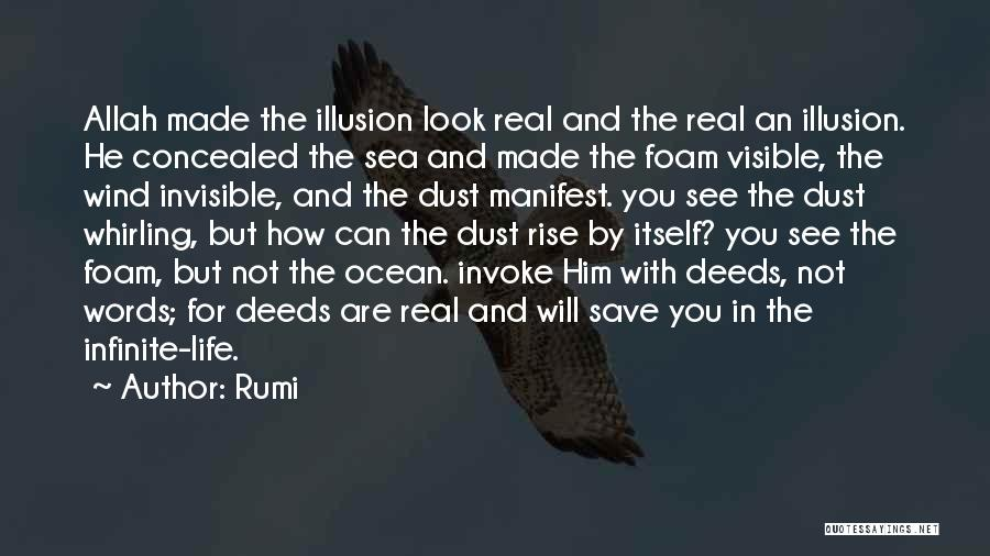 Real Life Wisdom Quotes By Rumi