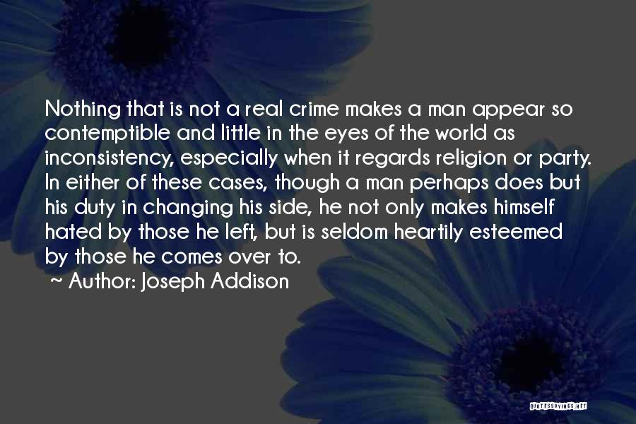 Real Or Not Real Quotes By Joseph Addison