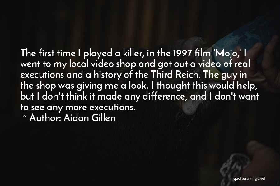 Real Time Quotes By Aidan Gillen