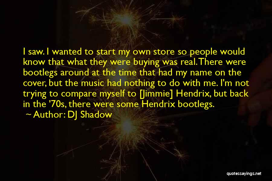 Real Time Quotes By DJ Shadow
