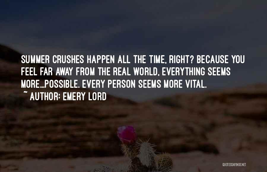 Real Time Quotes By Emery Lord