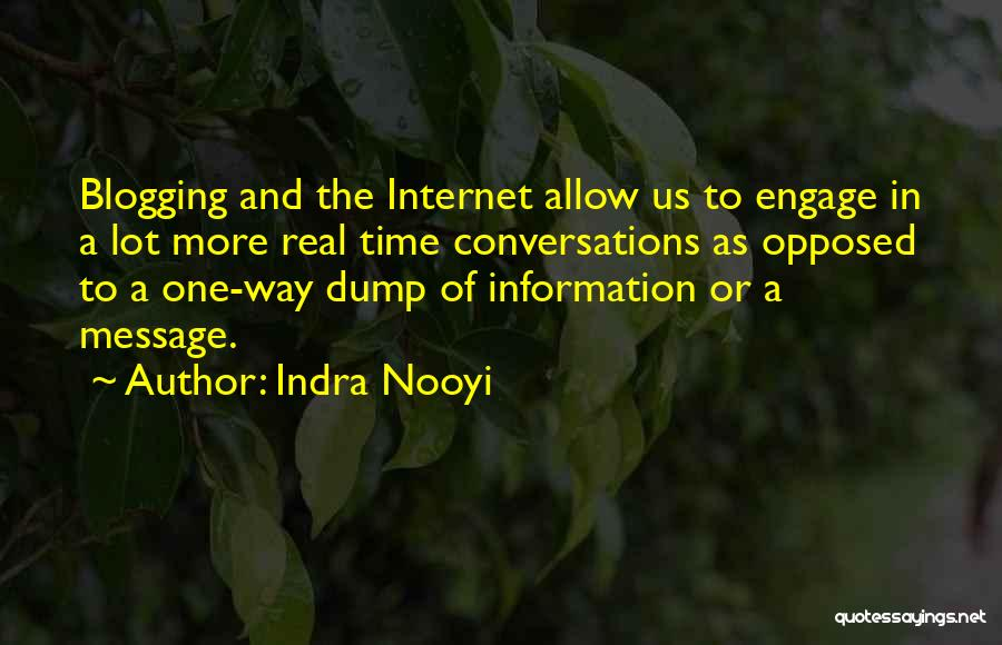 Real Time Quotes By Indra Nooyi