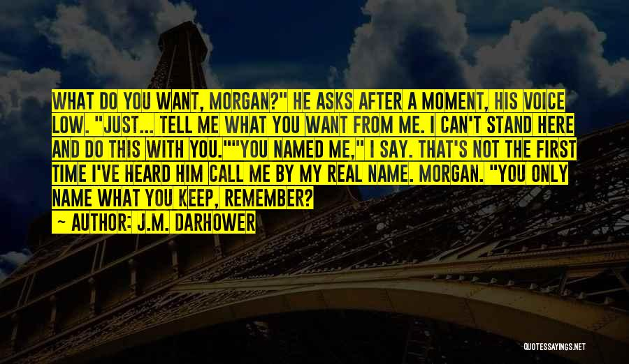 Real Time Quotes By J.M. Darhower