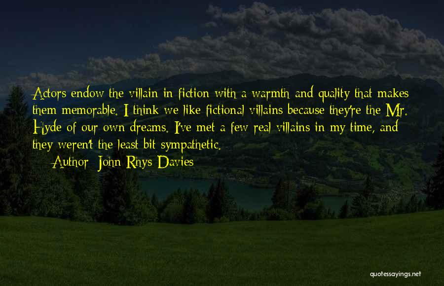 Real Time Quotes By John Rhys-Davies
