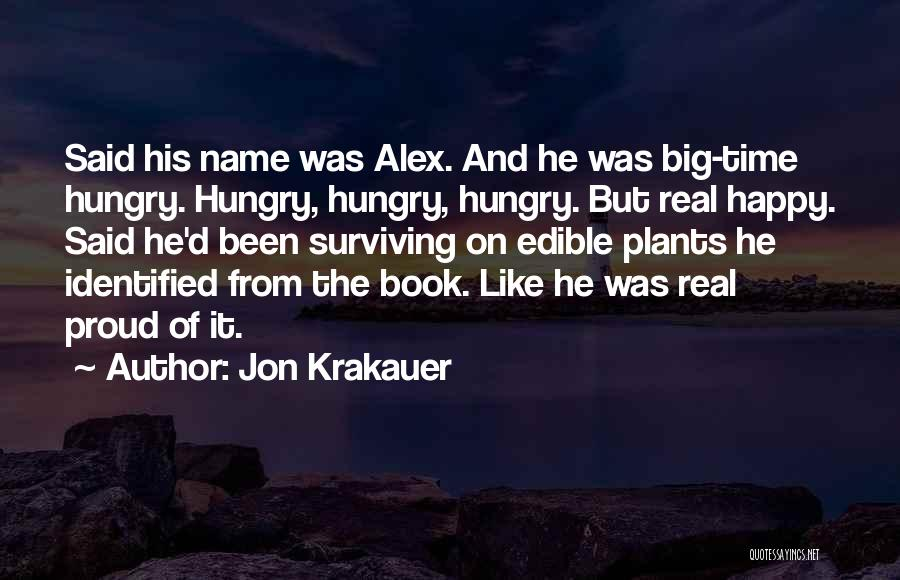 Real Time Quotes By Jon Krakauer