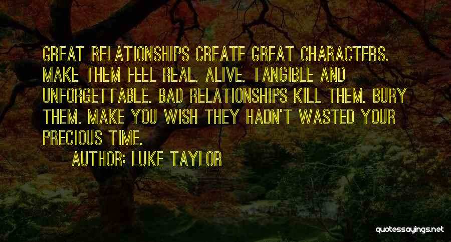 Real Time Quotes By Luke Taylor