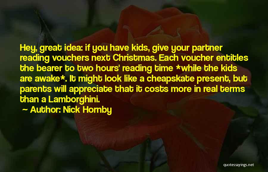 Real Time Quotes By Nick Hornby