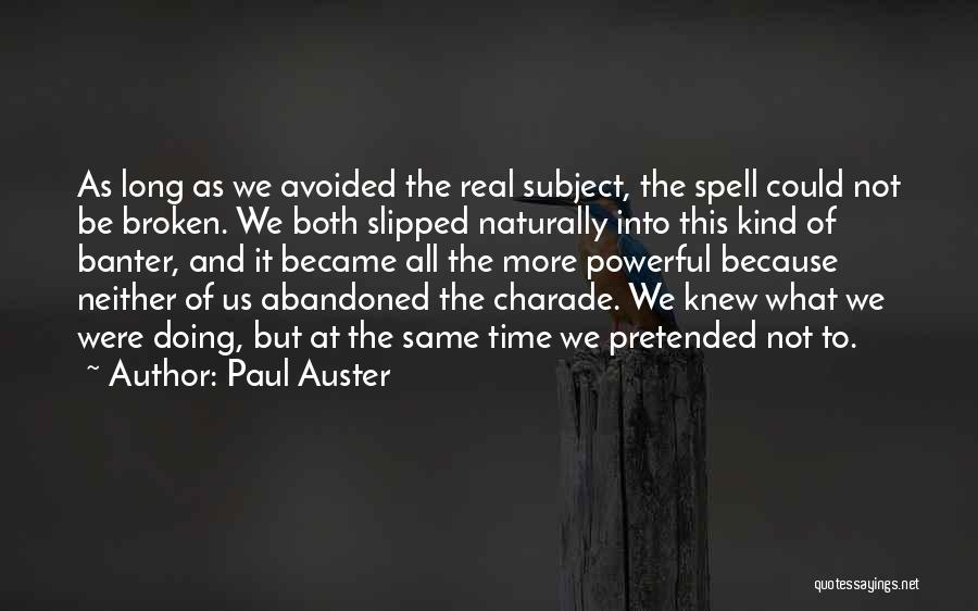 Real Time Quotes By Paul Auster