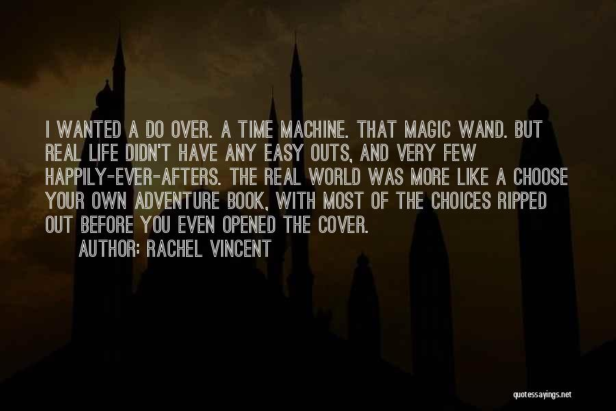 Real Time Quotes By Rachel Vincent