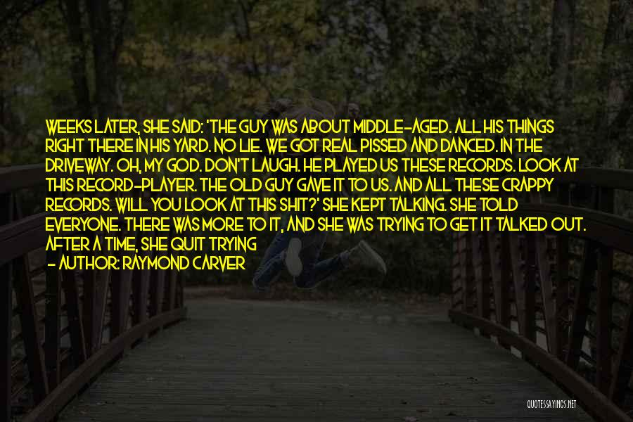Real Time Quotes By Raymond Carver