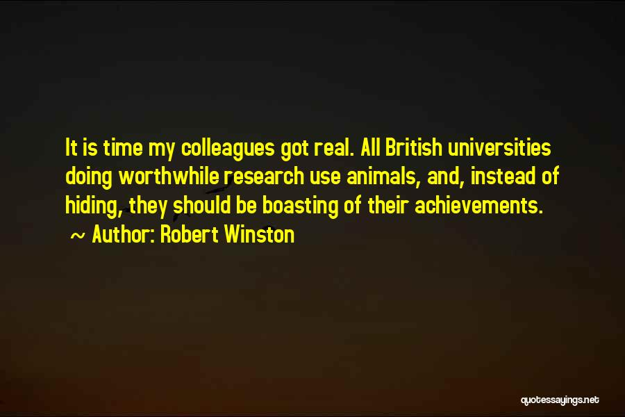 Real Time Quotes By Robert Winston