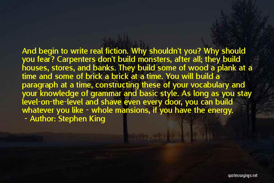 Real Time Quotes By Stephen King