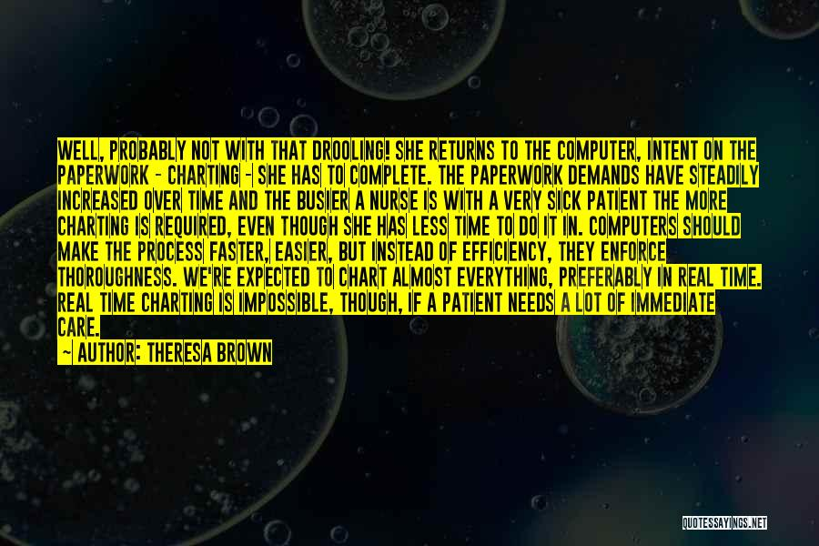Real Time Quotes By Theresa Brown