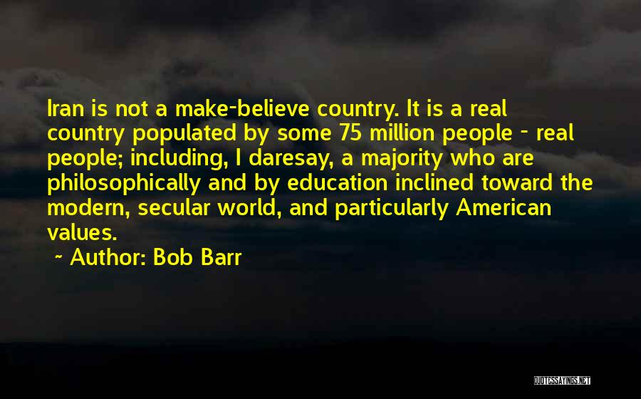 Real World Education Quotes By Bob Barr