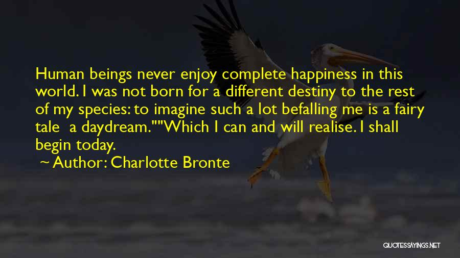 Realise My Love Quotes By Charlotte Bronte