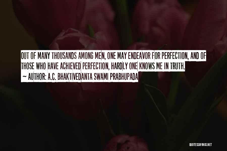 Realization Of Self Quotes By A.C. Bhaktivedanta Swami Prabhupada