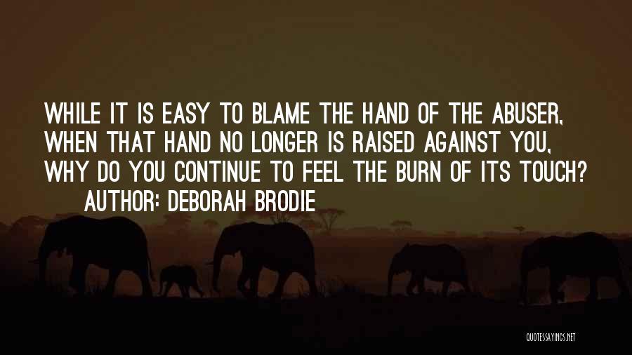 Realization Of Self Quotes By Deborah Brodie