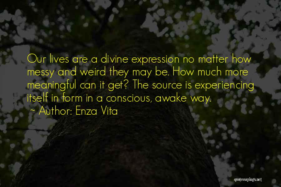 Realization Of Self Quotes By Enza Vita