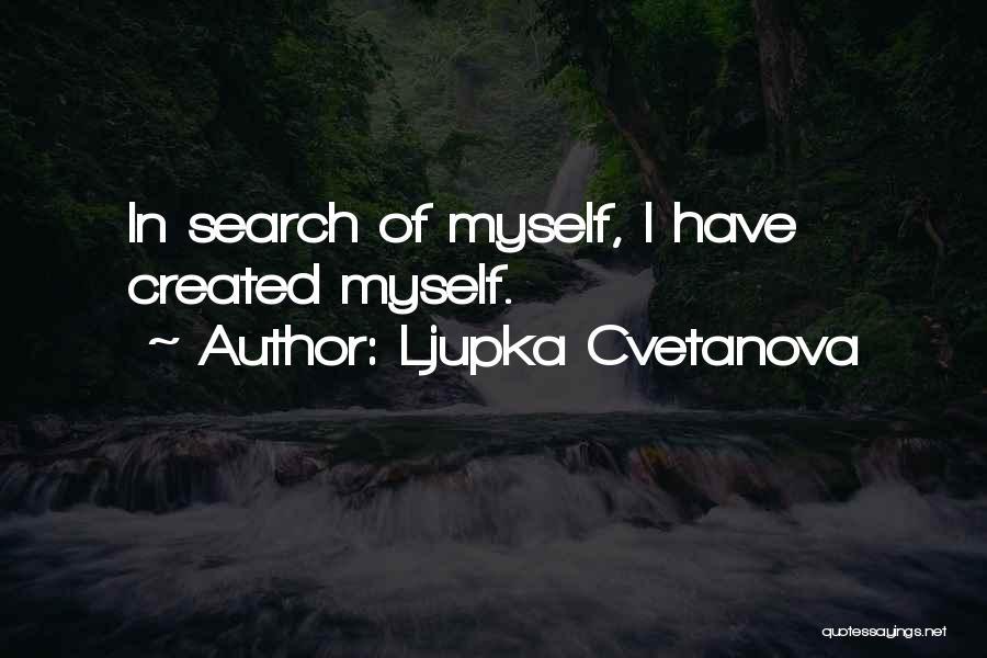 Realization Of Self Quotes By Ljupka Cvetanova