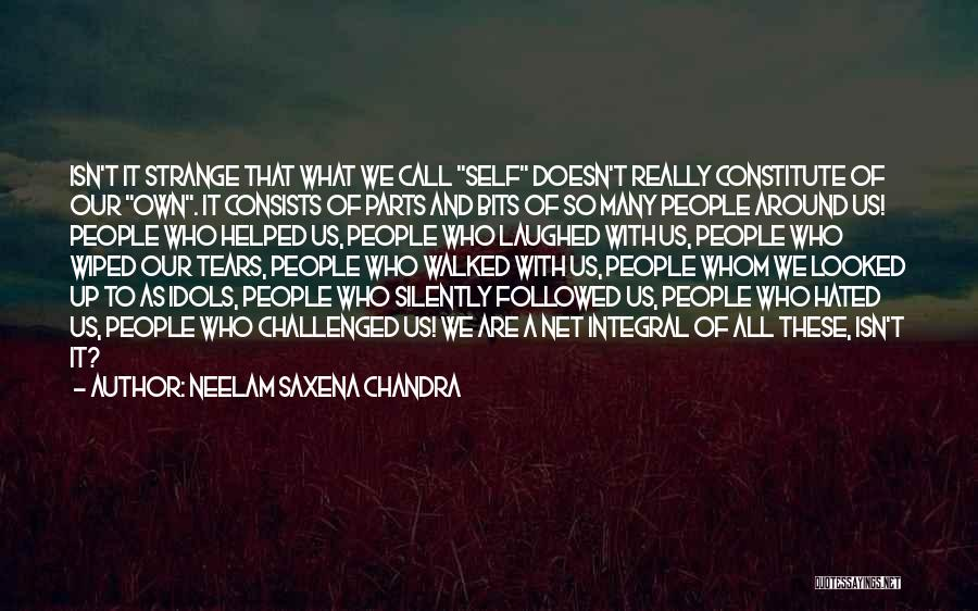 Realization Of Self Quotes By Neelam Saxena Chandra