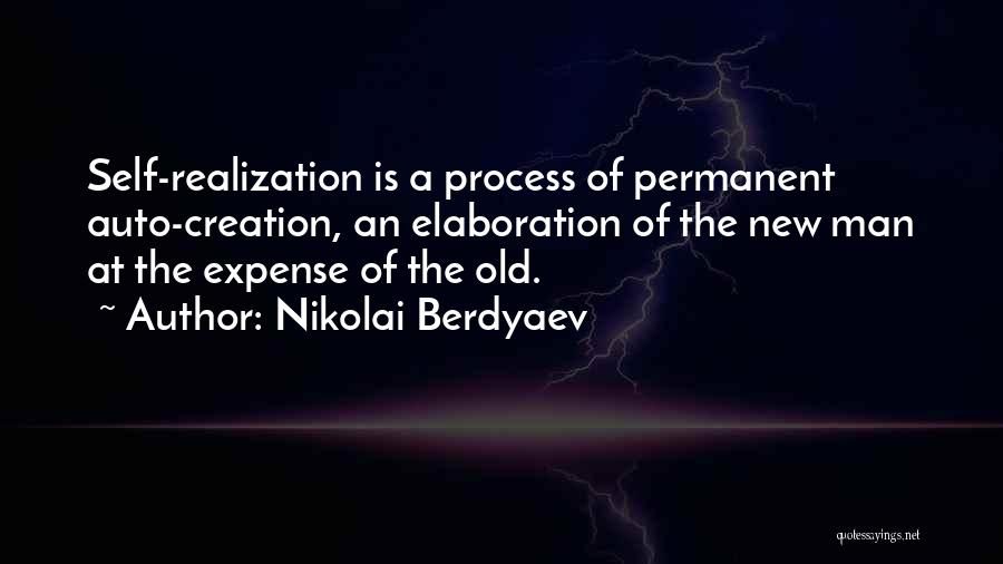 Realization Of Self Quotes By Nikolai Berdyaev