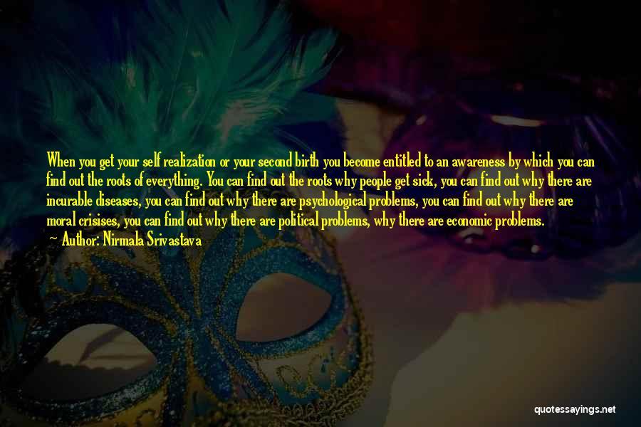 Realization Of Self Quotes By Nirmala Srivastava