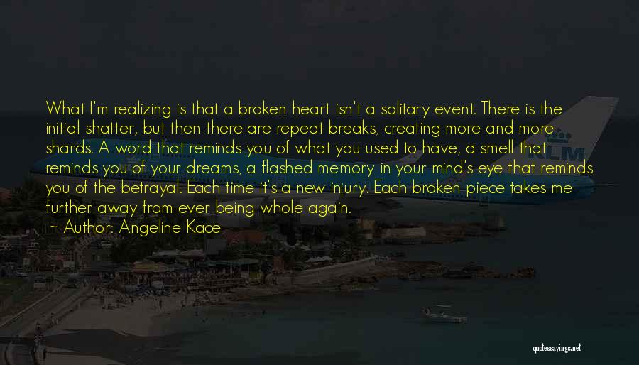 Realizing You Are Being Used Quotes By Angeline Kace
