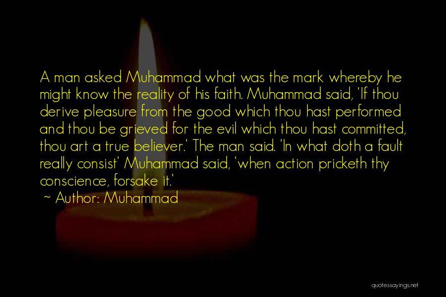 Really Good Faith Quotes By Muhammad
