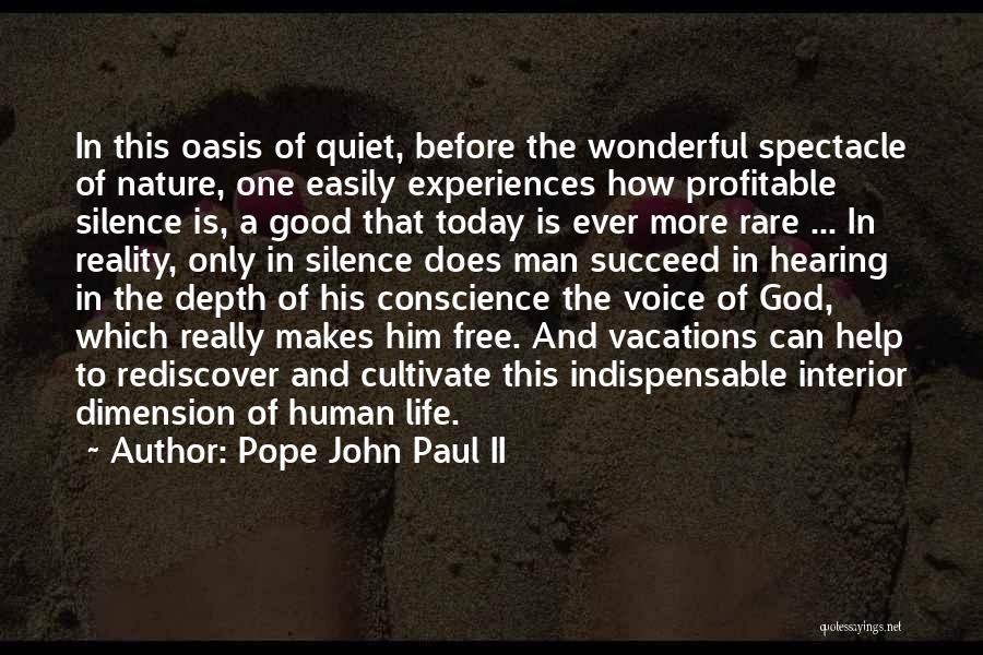 Really Good Faith Quotes By Pope John Paul II