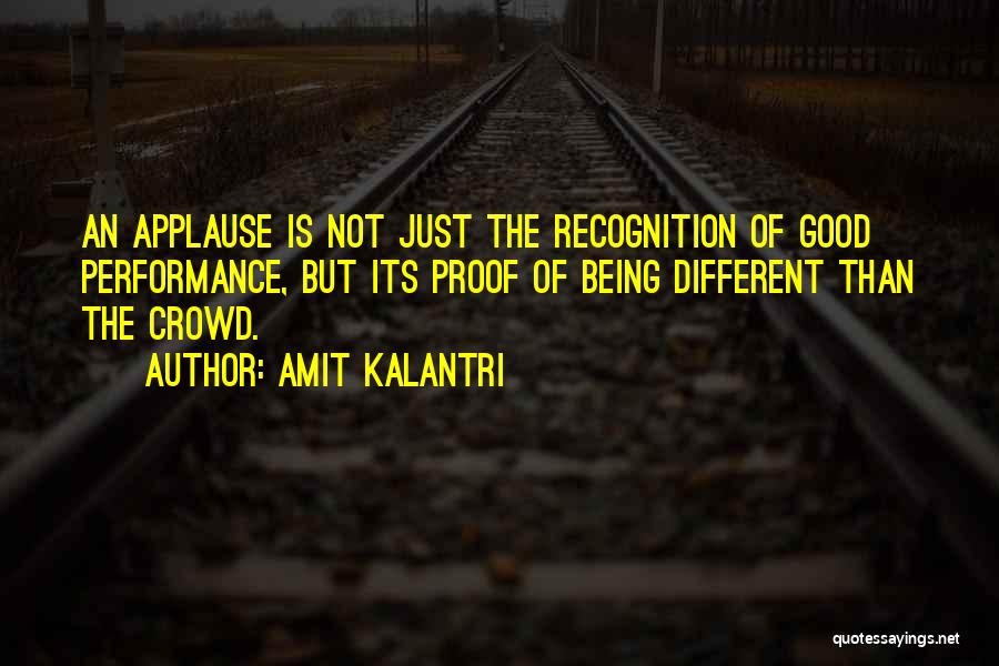 Really Good Unique Quotes By Amit Kalantri