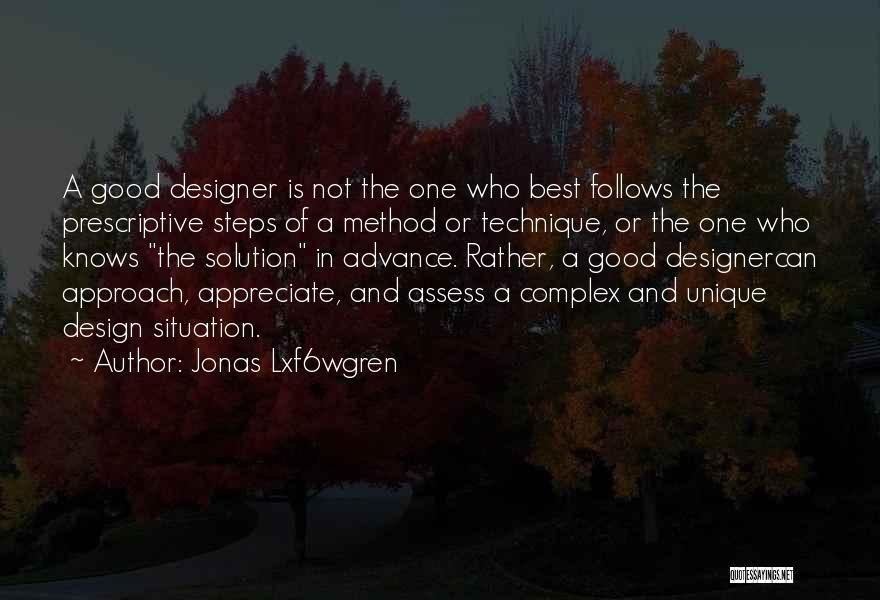 Really Good Unique Quotes By Jonas Lxf6wgren
