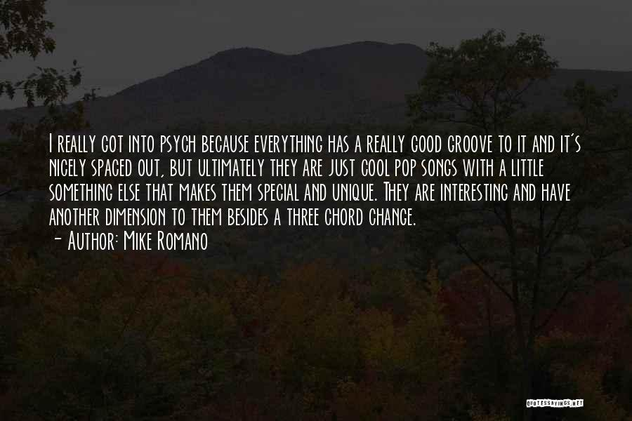 Really Good Unique Quotes By Mike Romano