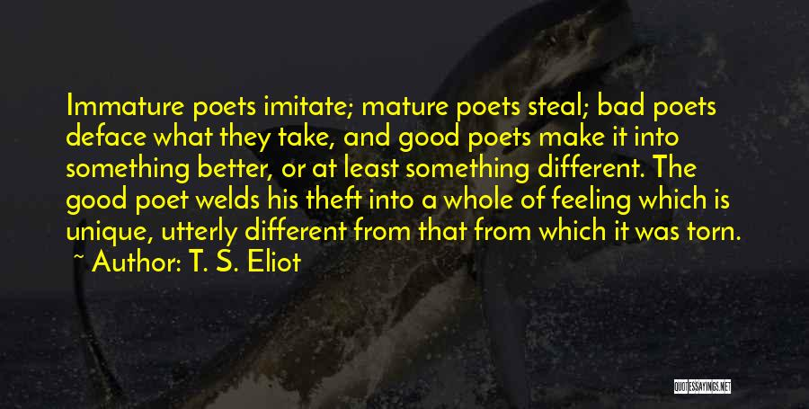 Really Good Unique Quotes By T. S. Eliot