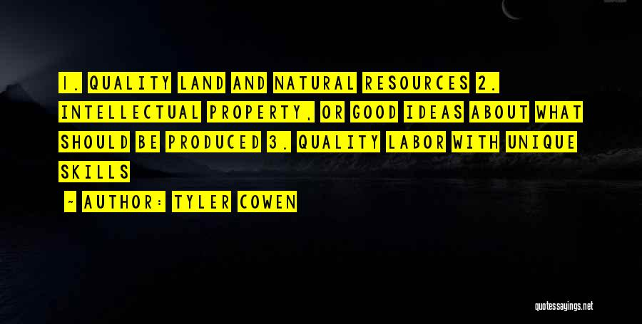 Really Good Unique Quotes By Tyler Cowen