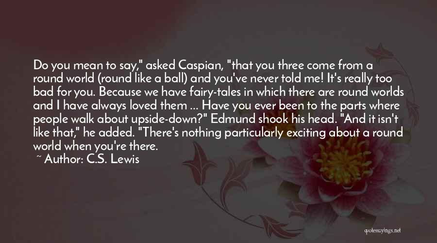 Really Mean It Quotes By C.S. Lewis