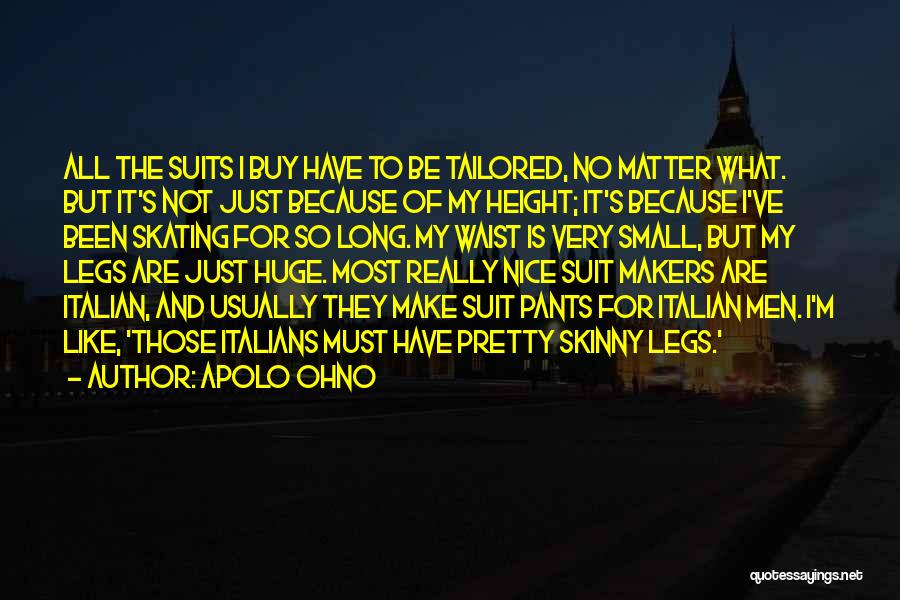 Really Nice Quotes By Apolo Ohno