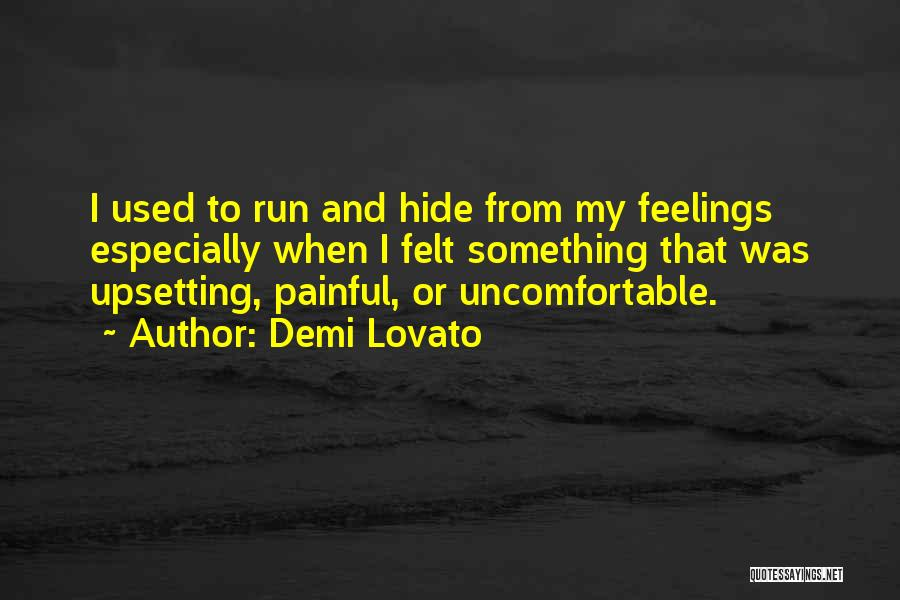 Really Upsetting Quotes By Demi Lovato