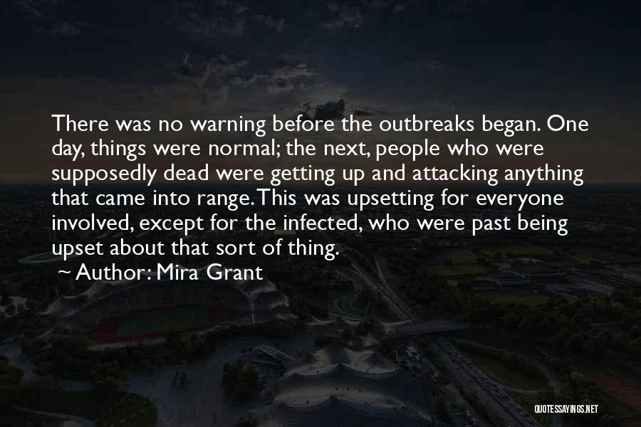 Really Upsetting Quotes By Mira Grant