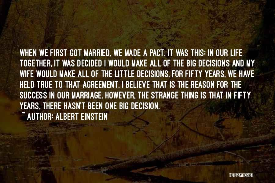 Reason For Success Quotes By Albert Einstein