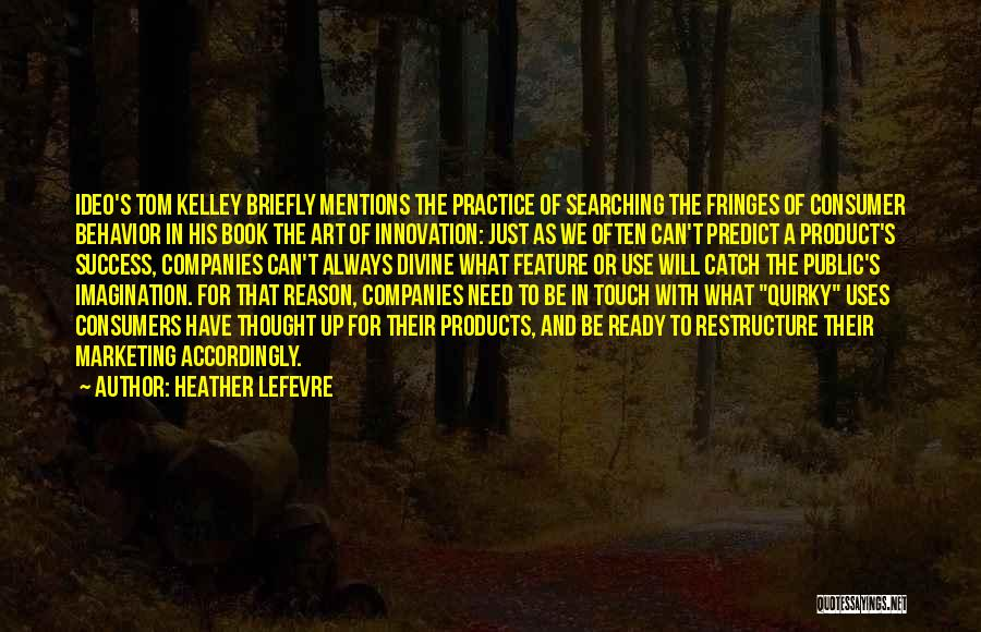 Reason For Success Quotes By Heather Lefevre