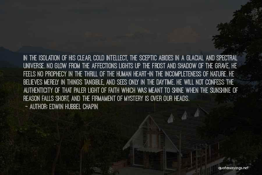 Reason Over Faith Quotes By Edwin Hubbel Chapin