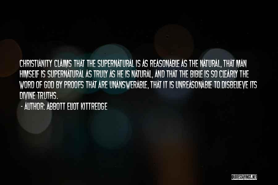 Reasonable Man Quotes By Abbott Eliot Kittredge